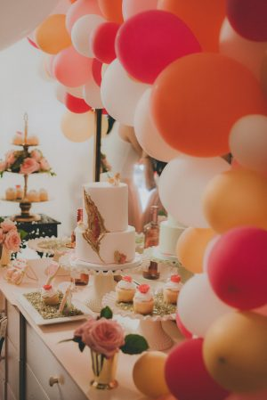 Wedding Dessert Bar - Cristina Navarro Photography