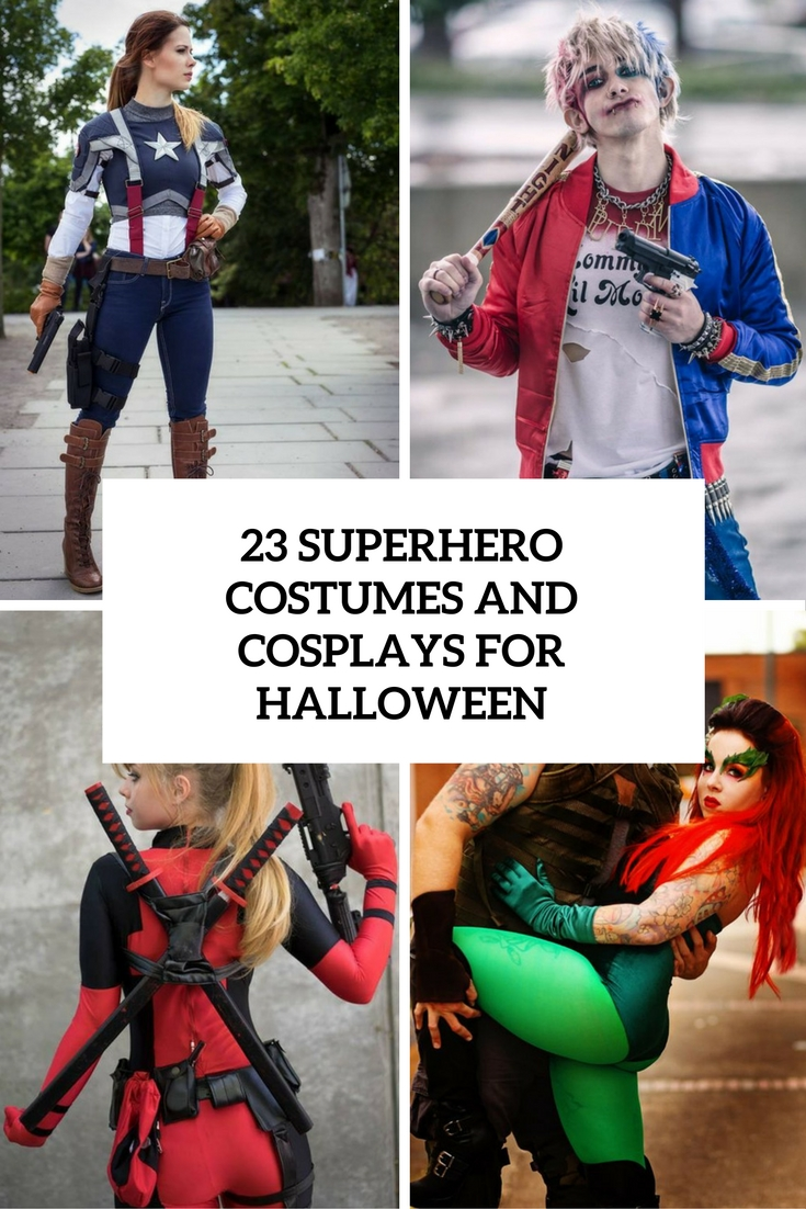superhero costumes and cosplays for halloween cover