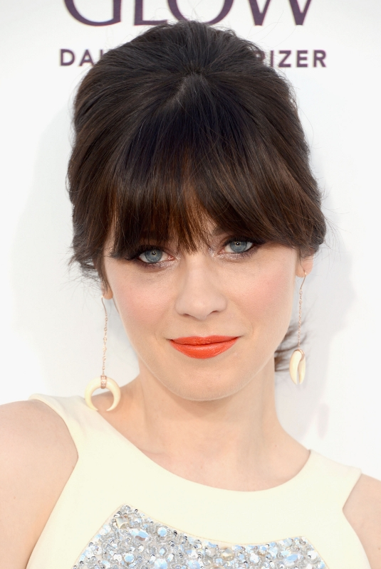 #8 - Fluffed Updo with Fringes