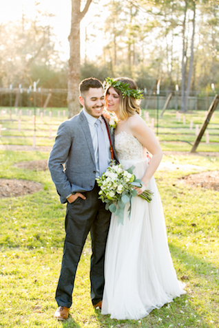 Fall vineyard wedding in Texas | Kasey Lynn Photography