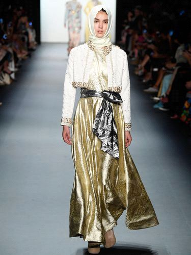 Hijab Collection in NYFW (2)