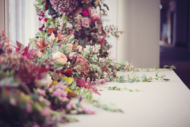 Jewel toned floral designs | Tiree Dawson Photography