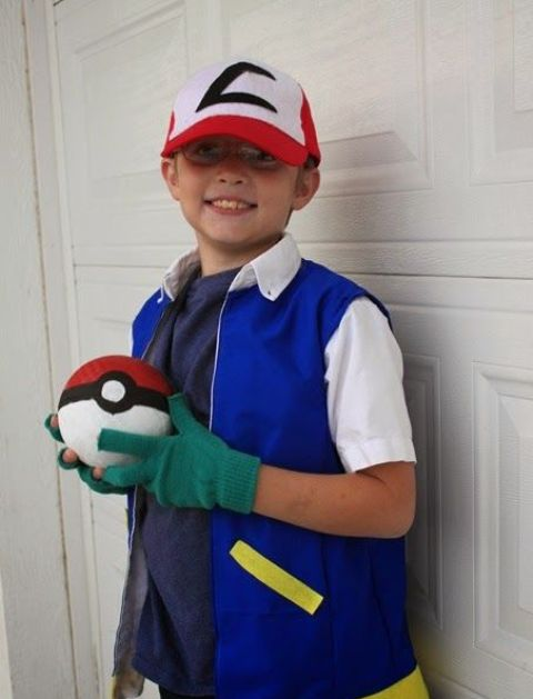 Pokemon Ash costume is easy to make and trendy
