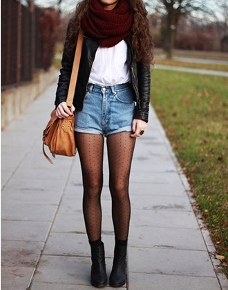 How to Wear Shorts in Winters (27)