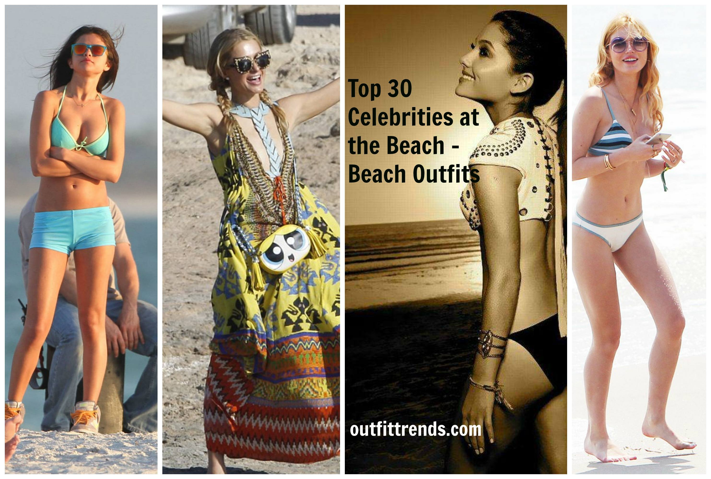 celebrities-beach-outfits