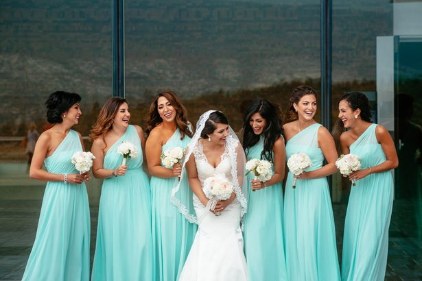Turquise Bridesmaid Dresses - Will Pursell Photography