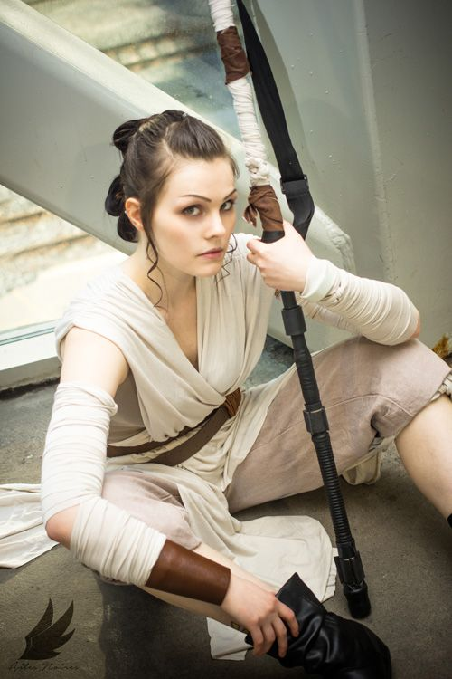 Rey look can be made without sewing