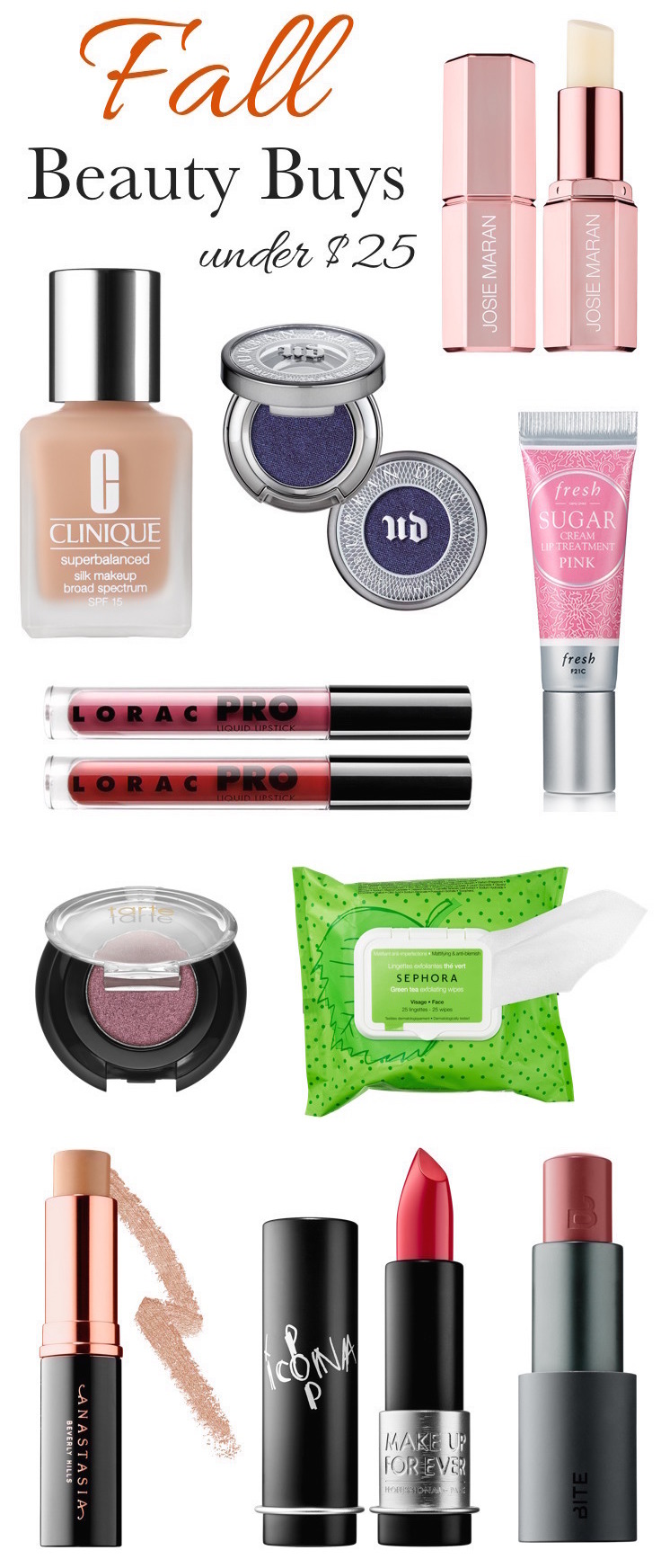 Fall makeup must-haves under $  25!