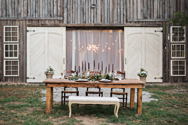Southern barn wedding inspiration | Amilia Photography