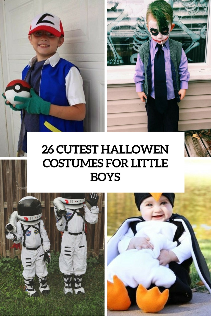 cutest halloween costumes for little boys cover