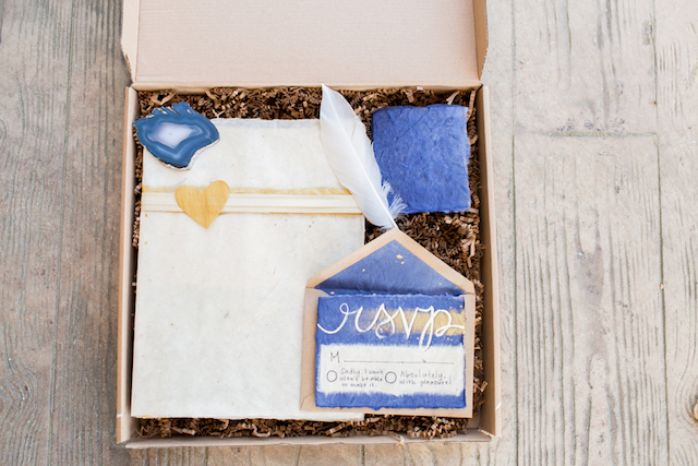 DIY Box Invitation for Weddings | Kasey Lynn Photography