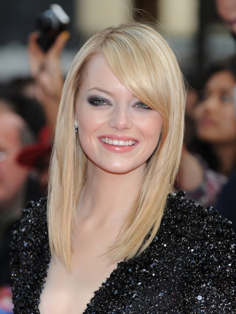 #5 - Yellowish Blonde Medium Haircut