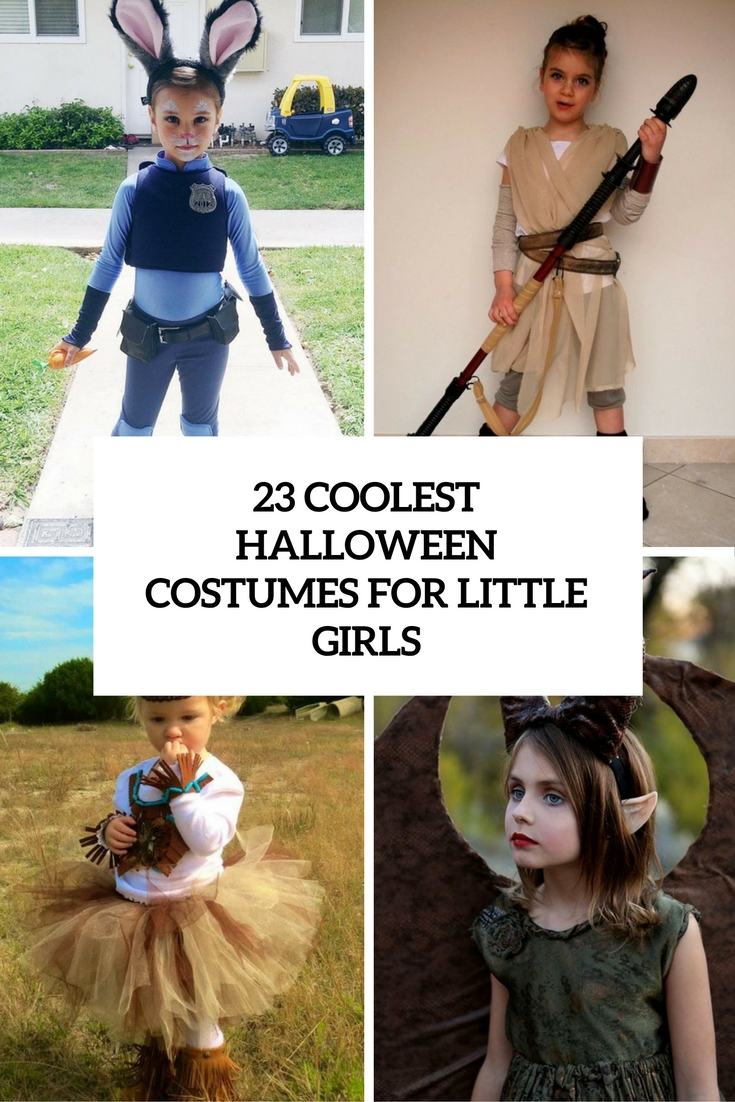 coolest halloween costumes for little girls cover