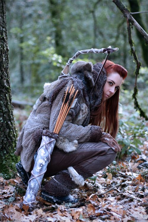 wildling cosplay girl kissed by fire