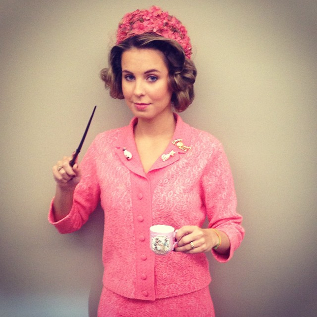 Dolores Umbridge outfit in all pink
