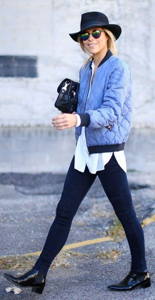 How to Wear Outfits With Bomber Jacket (18)