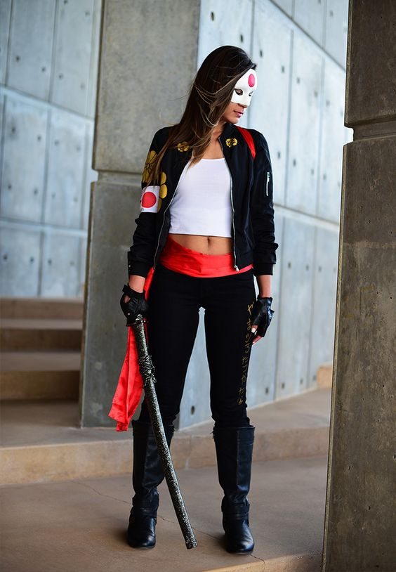 chic Katana costume from Suicide Squad