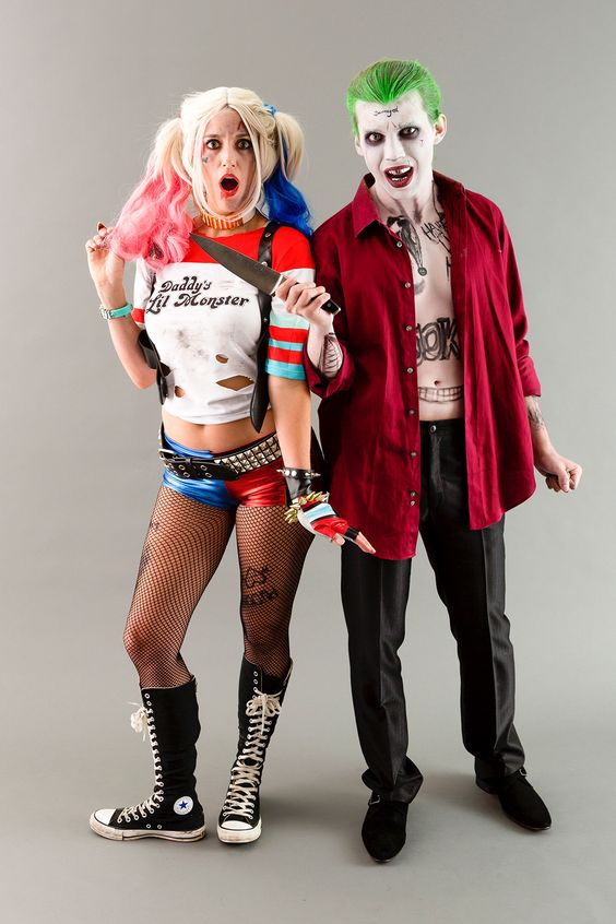 Harley Quinn and the Joker from Suicide Squad are the couple costume of the year