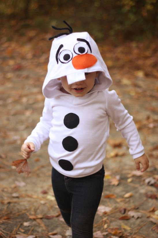 Olaf outfit from Frozen