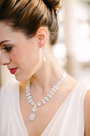 Glam wedding jewelry | Sarah Pudlo & Co