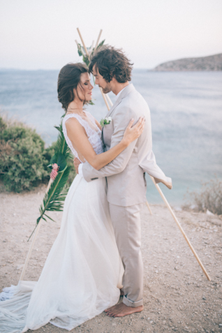 Destination wedding in Greece | Paulina Weddings Photography