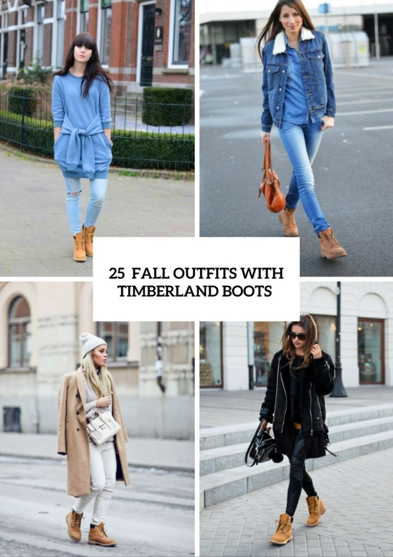 Excellent Fall Outfits With Timberland Boots For Girls
