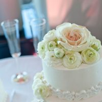 Wedding pink floral cake - Tamytha Cameron Photography