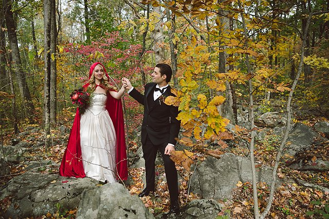 Little Red Riding Hood themed wedding | SYPhotography