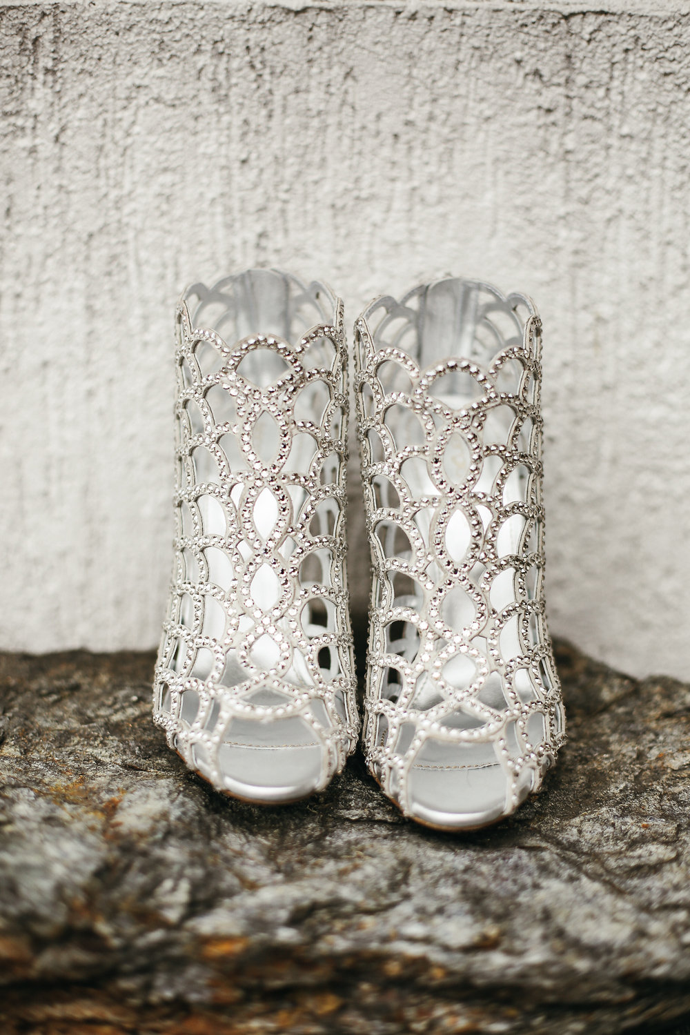 silver wedding shoes - photo by Lara Hotz http://ruffledblog.com/secret-garden-inspired-australian-wedding