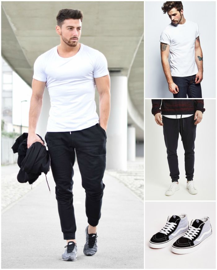 How to wear Sweatpants and Joggers for Men (16)