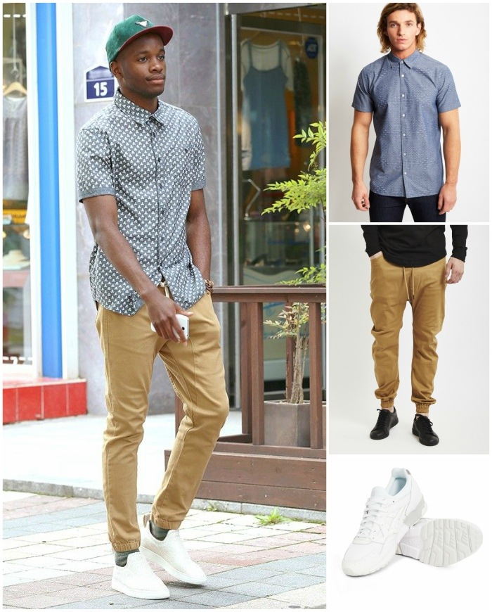 How to wear Sweatpants and Joggers for Men (15)