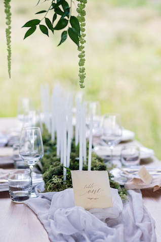 Candle centerpiece | Wild & Grace