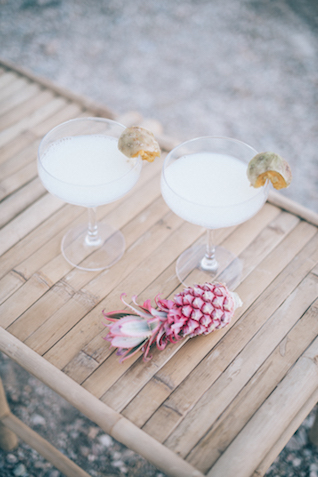 Tropical drinks | Paulina Weddings Photography