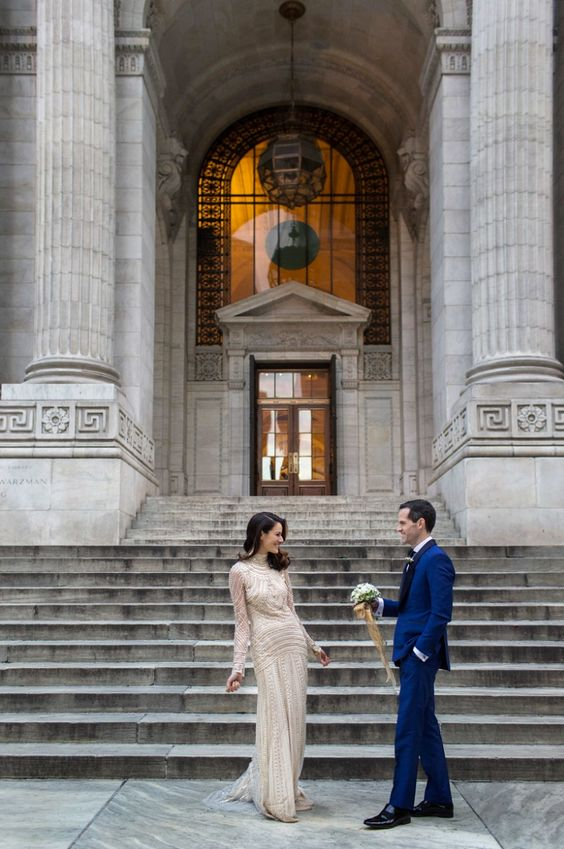 that New York public library that inspired Carrie Bradshaw