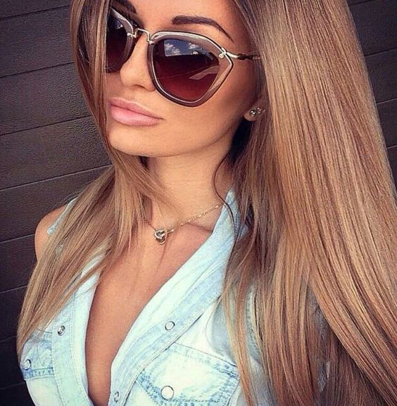 caramel blond hair flatters every complexion