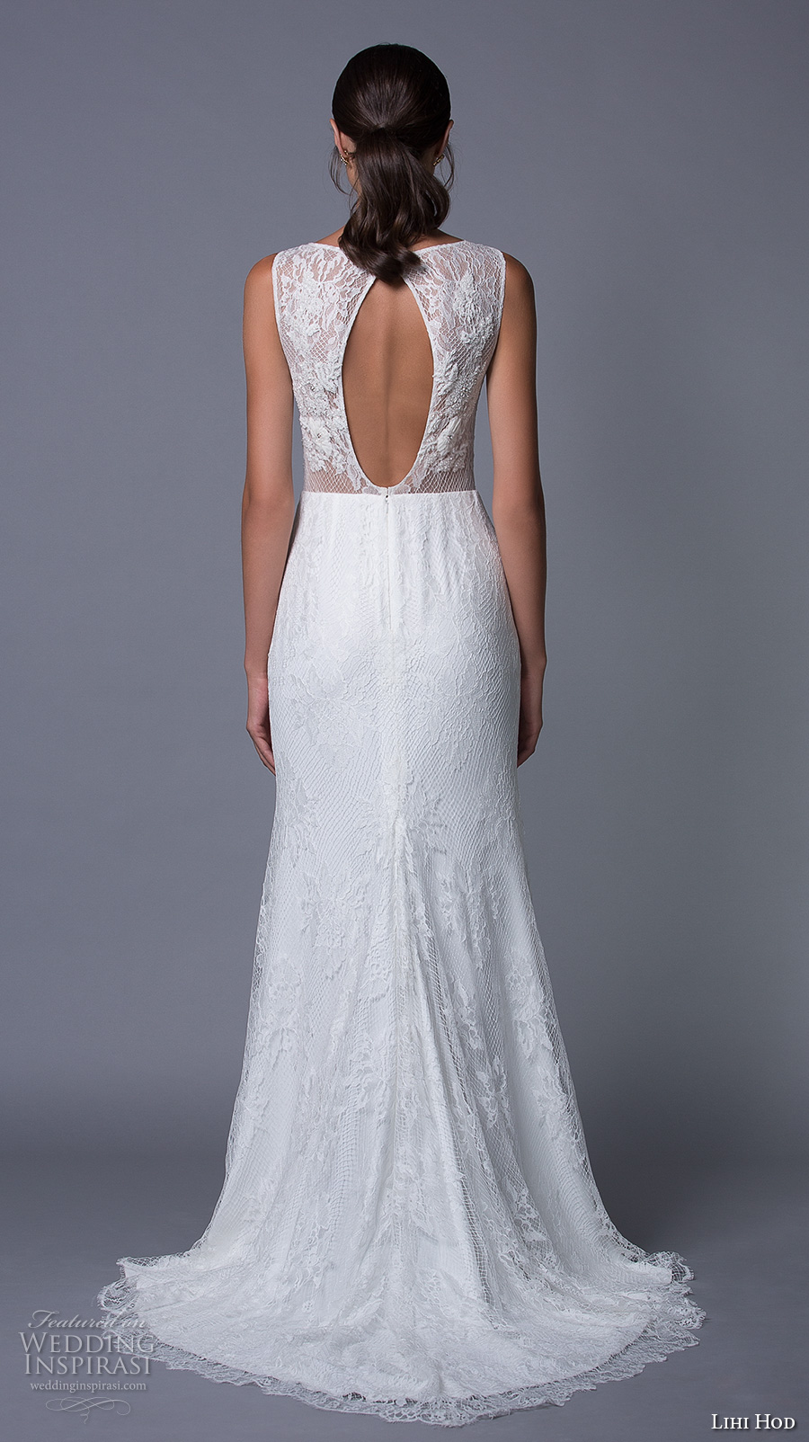lihi hod 2017 bridal sleeveless bateau neckline heavily embellished bodice sexy elegant a line wedding dress keyhole back sweep train (isabel) bv