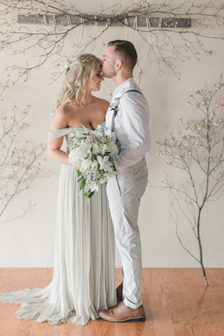 Alexandra Grecco wedding dress | About Time Photography