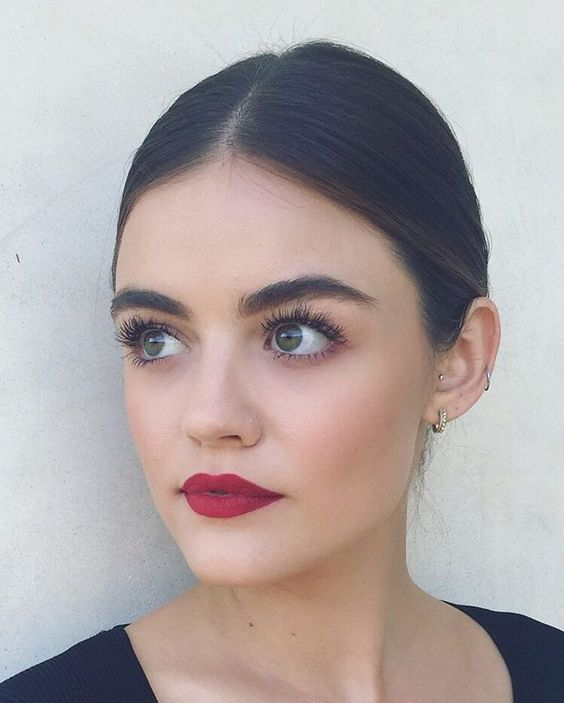 bold berry lips for a medium complexion