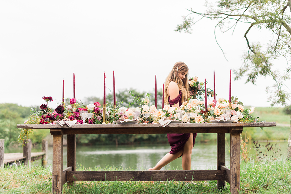 wedding inspiration - photo by Christa Breaugh Photography http://ruffledblog.com/early-fall-wedding-ideas