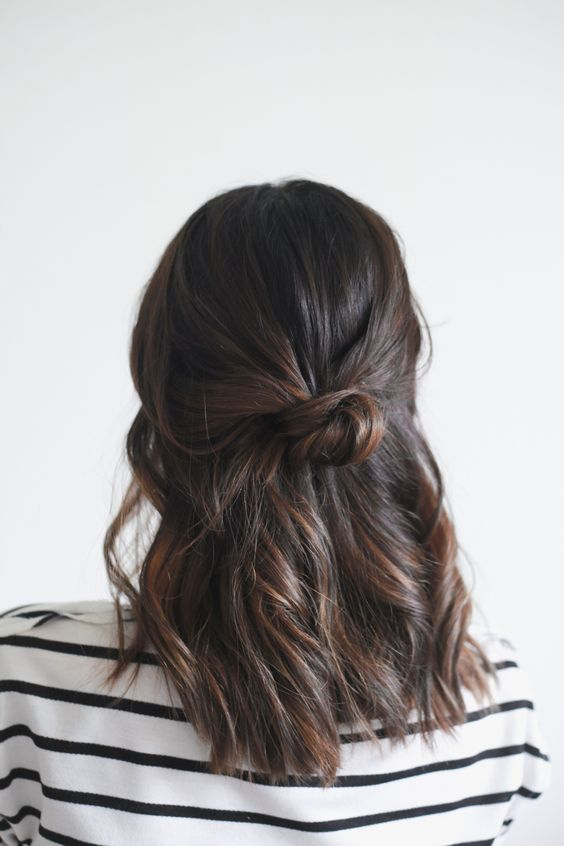 babylight for dark hair with warm highlight colors