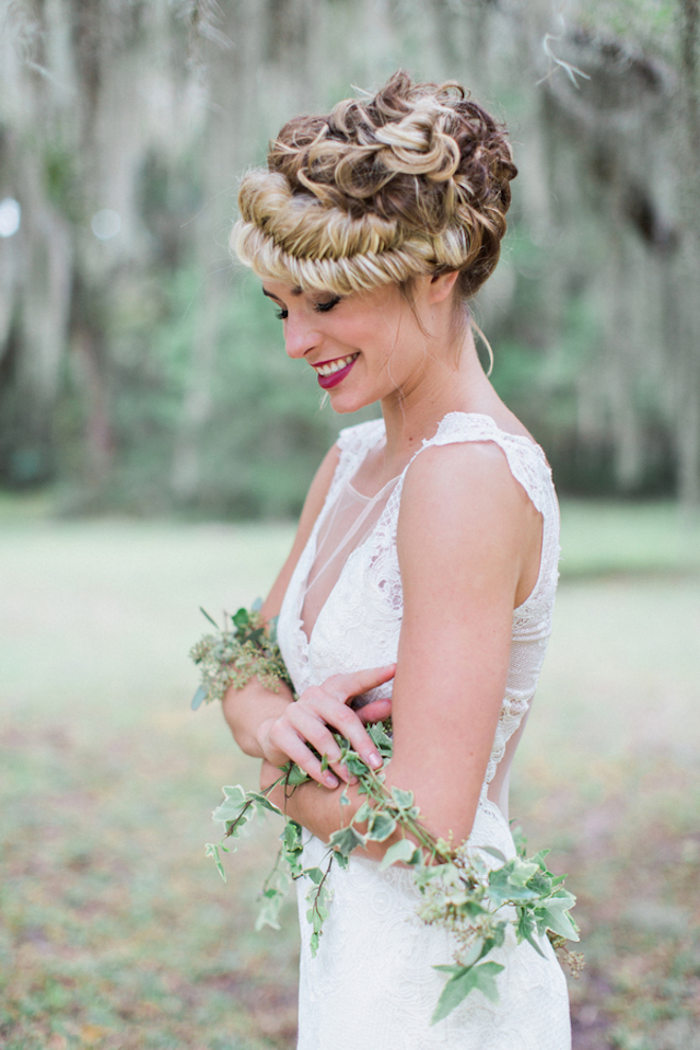 Fishtail braid updo | Flora + Fauna Photography