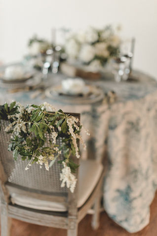 Chair florals | About Time Photography
