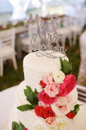 Wedding cake - Justin Wright Photography