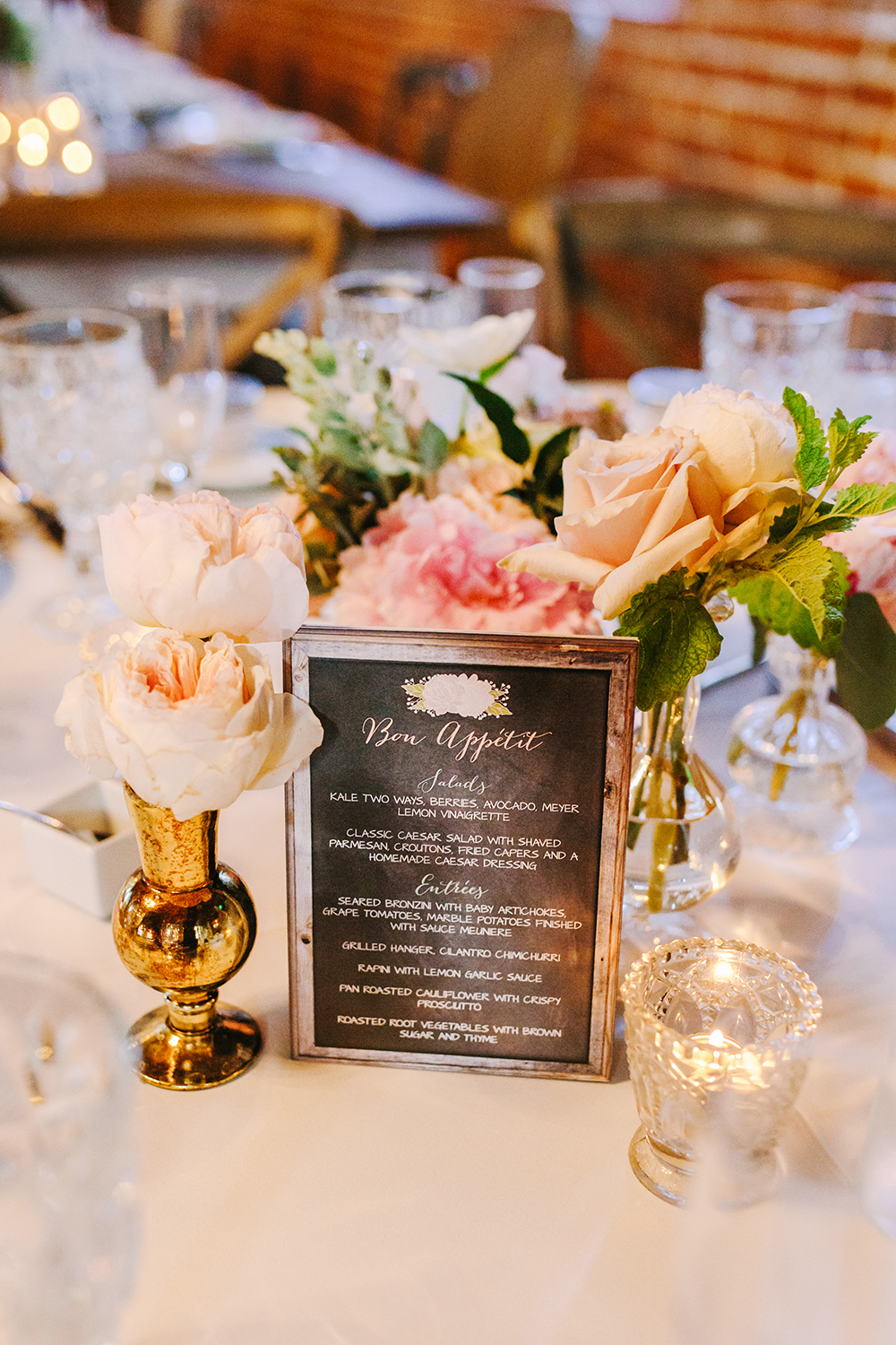 paper goods - photo by Priscila Valentina Photography http://ruffledblog.com/blush-pink-wedding-at-carondelet-house
