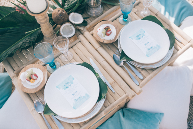 Bamboo table | Paulina Weddings Photography