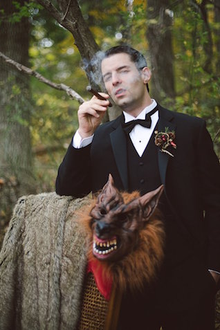 Little Red Riding Hood marries the Big Bad Wolf | SYPhotography