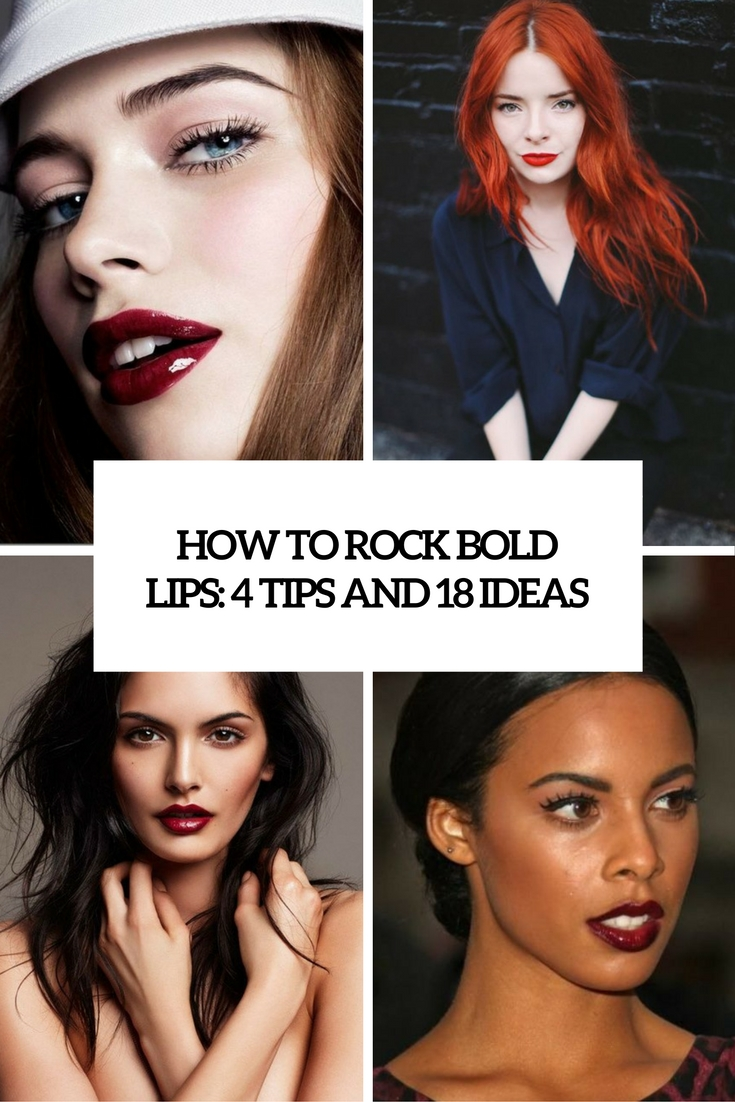 how to rock bold lips 4 tips and 18 ideas cover