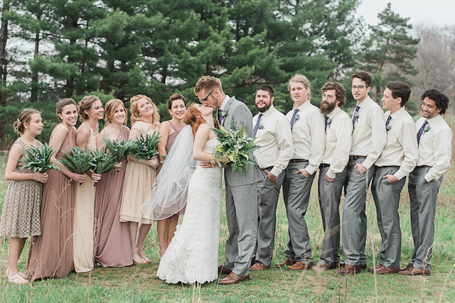 Fern and forest wedding ideas | Ashley Link Photography