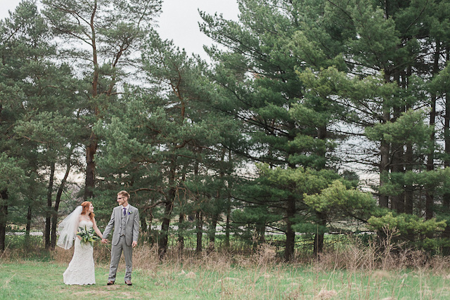 Fern and forest wedding inspiration shoot | Ashley Link Photography