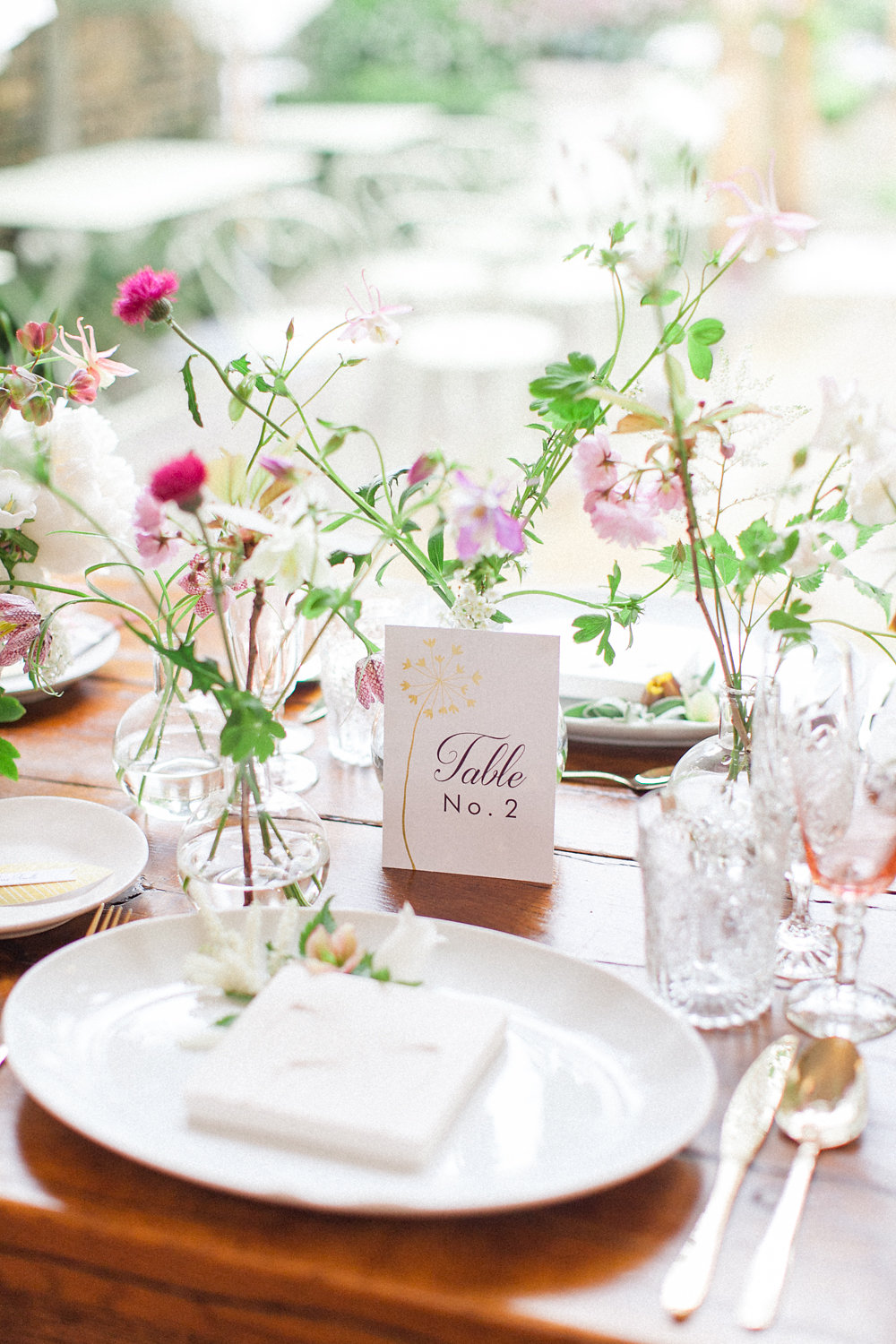 place setting - photo by Roberta Facchini Photography http://ruffledblog.com/herbarium-inspired-wedding-ideas